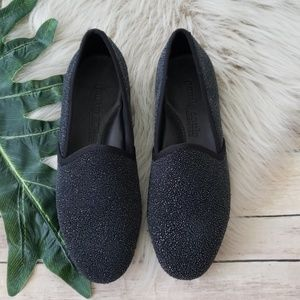 Gentle Souls Textured Edge-Y Flat Loafers